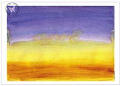 Art Greeting Card - Horizon Dreams